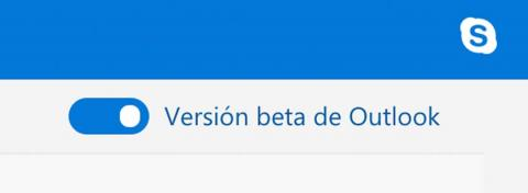 Versión beta de Outlook