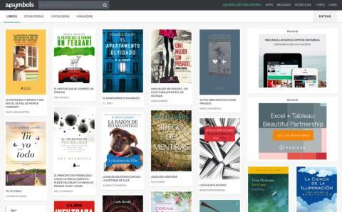 Plataformas suscripción libros electrónicos