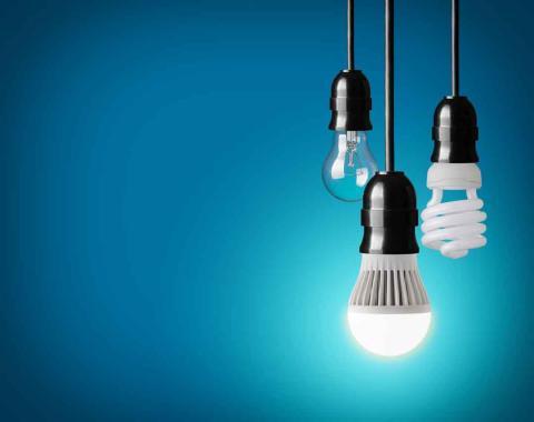 Ahorro de una bombilla LED