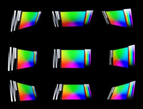 Ángulos de visión LG Q7