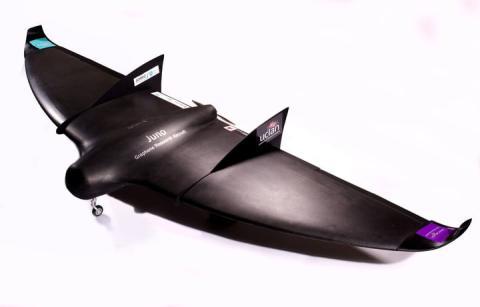 Avión de grafeno