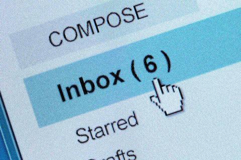 Bandeja de entrada de correo electrónico