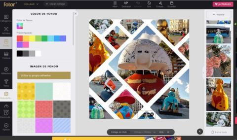 Como crear un collage