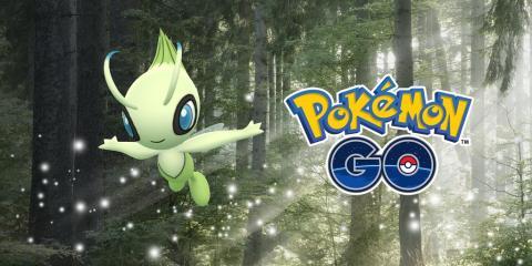Celebi en Pokémon GO