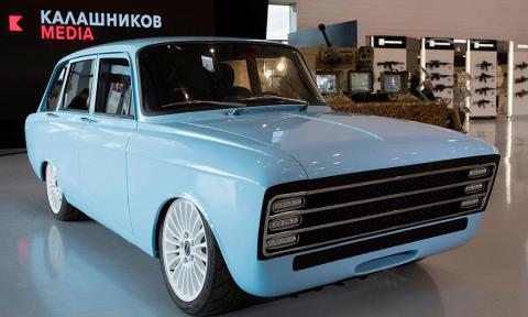 coche eléctrico kalashnikov