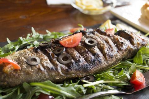 Comida alimentos dieta mediterránea