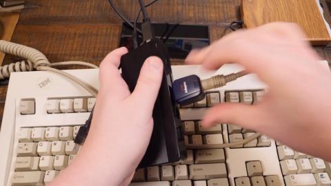 Juegos en Floppy Disk en un móvil
