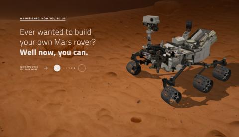 Contruye tu propio robot con la NASA