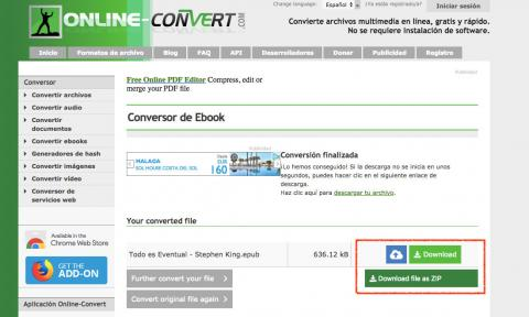 pdf to ebook reader converter online
