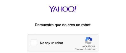 Demuestra que no eres un robot