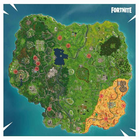 Fortnite Mapa Aros de Fuego