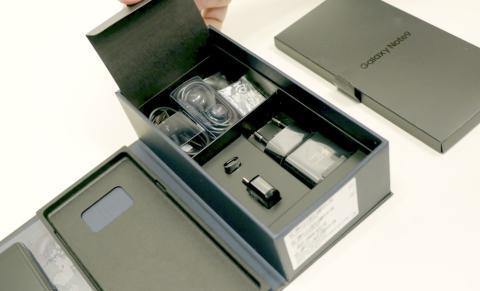 Galaxy Note 9 - contenido caja