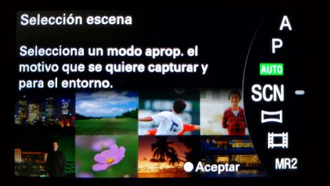 Galería Interfaz Sony Alpha 6300