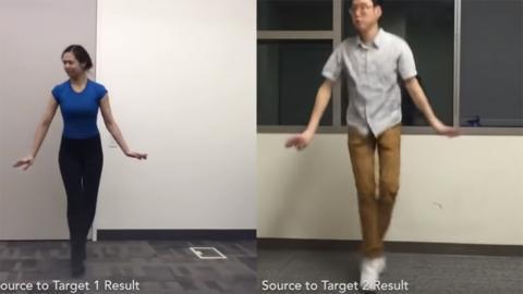 IA de baile