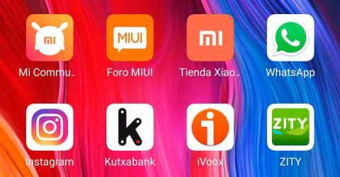 Iconos en MIUI