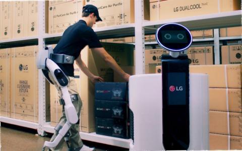 Robot electrodomésticos LG