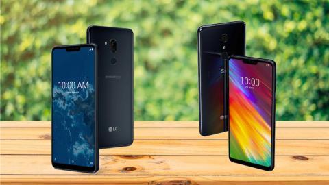 LG G7 Fit y LG G7 One