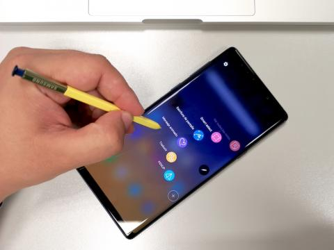 Note 9 - software S-Pen