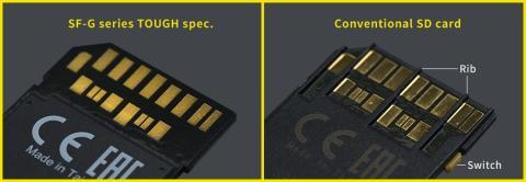 tarjetas SD Sony TOUGH