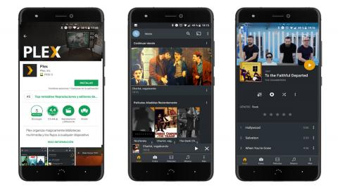 Plex en Android