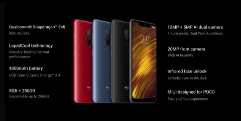 Pocophone F1, Xiaomi compite con la gama alta a un precio accesible