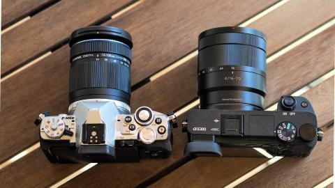 ¿Qué cámara sin espejo me compro?