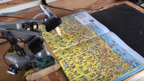 Robot con IA dónde está Wally