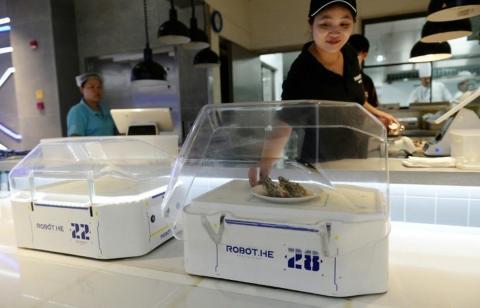 Robots camarero