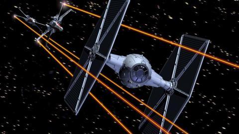 x wing, star wars,