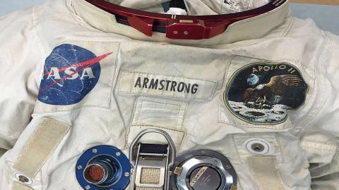 Traje astronauta Neil Armstrong