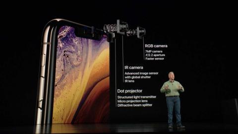 Cámara frontal iPhone Xs