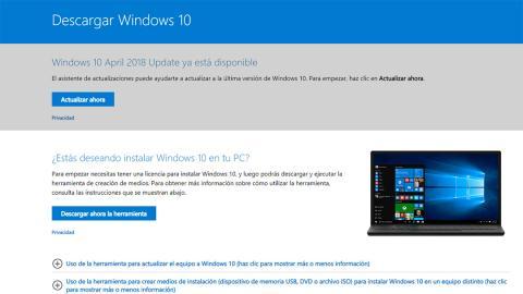 Cómo crear un USB de arranque para instalar Windows 10