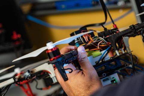 Drones de la Universidad de Rise