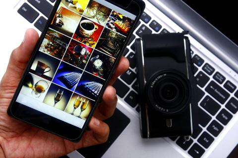 Galería de fotos en el móvil