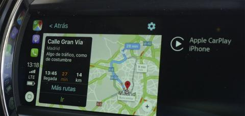 Google Maps en Apple CarPlay