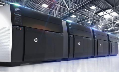 impresora 3d metal hp