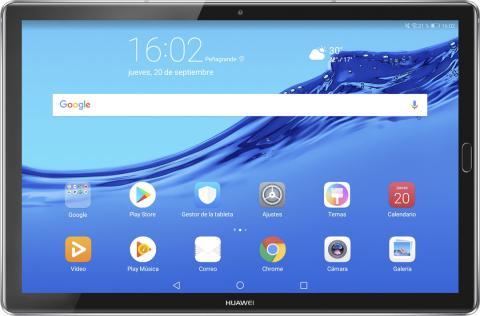 Interfaz de la MediaPad M5 Lite 10