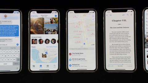 iPhone Xs presentacion
