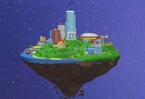 Ciudad de la NASA interactiva