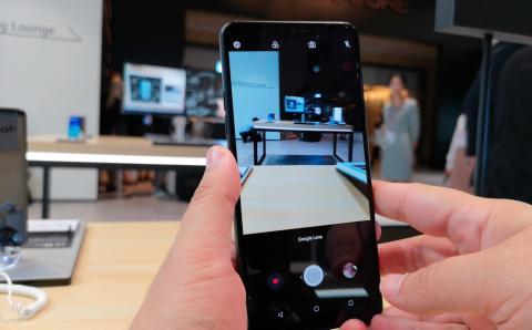 LG G7 cámara- google lens