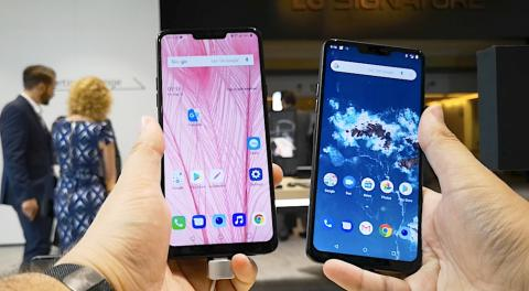 LG G7 Fit vs One