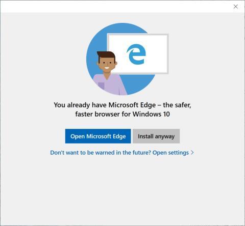 mensaje windows 10