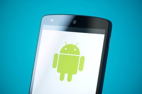 Móvil logo de Android