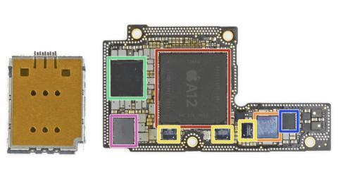 Placa iPhone Xs