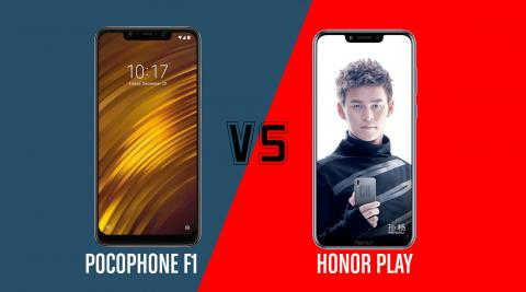 Pocophone vs Honor Play