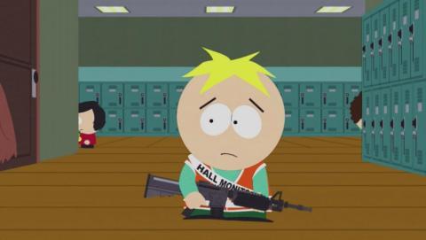 South Park se burla del debate de las armas en EEUU