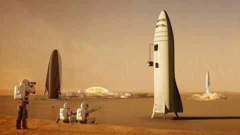 Elon Musk fuma hierba y revela que diseñó un avión eléctrico