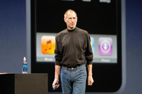 Steve Jobs primer iPhone