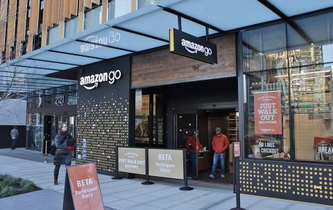 Una tienda Amazon Go en Seattle (EE.UU.)