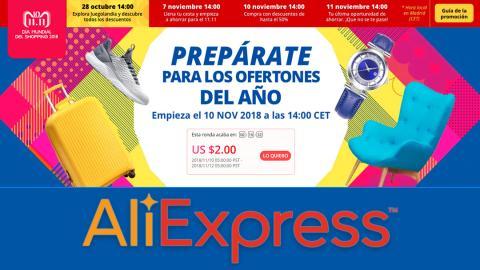 11.11 de AliExpress 2018